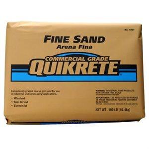 Lapis Luster Sand, Fine, Commercial Grade, 100-Lb.