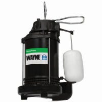 Submersible Sump Pump With Vertical Switch, Cast Iron , 1/3-HP Motor