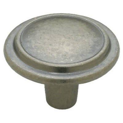 Antique Iron Top Ring Round Cabinet Knob, 10-Pk.