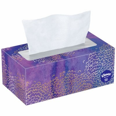 Image of Ultra Soft Facial Tissue, White, 110-Ct.