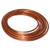 Copper Tube, Utility Grade, 3/8-In. OD x 20-Ft.