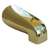 Bathtub Spout, Polished Brass