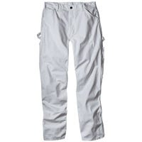 Painter's Pants, White Drill Fabric, Men's 38 x 34-In.