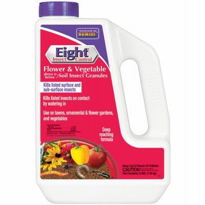 Eight Insect Control Garden Granules, 3-Lbs.
