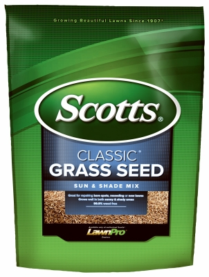 Image of Classic Sun & Shade Grass Seed, 20-Lbs.