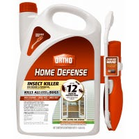 Home Defense Max Insect Killer With Wand, 1.1-Gallon Ready-to-Use Bonus Size