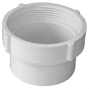 PVC Pipe Fitting, Cleanout Body, 3-In., Spigot x FIP