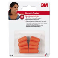 Disposable Earplugs, NRR 32DB, 4-Pr.