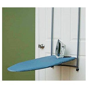Over-The-Door Ironing Board Cover & Pad, Silicone-Coated Blue