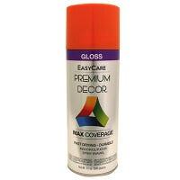 Premium Decor Spray Paint, Pumpkin Orange Gloss, 12-oz.