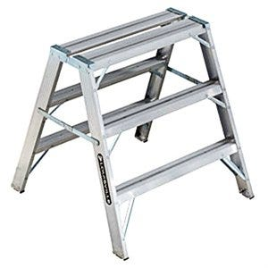 Sawhorse Step Ladder, Type 1A, 3-Ft.
