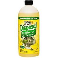 Instant Power Disposer Freshener & Cleaner, Lemon Scent, 1-Liter