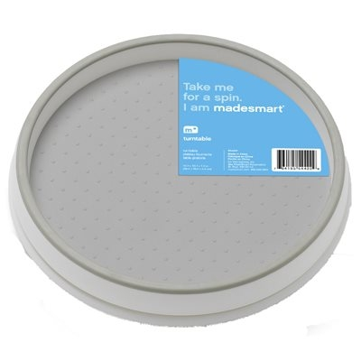Image of Kitchen Turntable, White, 10-In.