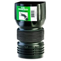 Flex Drain Downspout Adapter, 3 x 4 x 4-In.