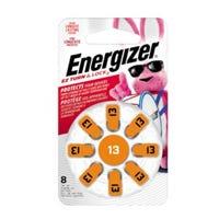 Hearing Aid Batteries, 1.4-Volt Zinc Air, 8-Pack, AZ13DP-8