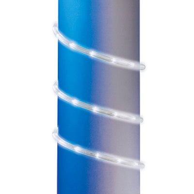 Christmas Rope Light, Cool White LED, 9-Ft.