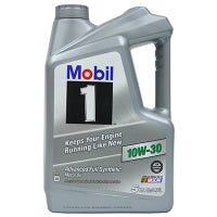 Synthetic Motor Oil, 10W-30, 5-Qt.