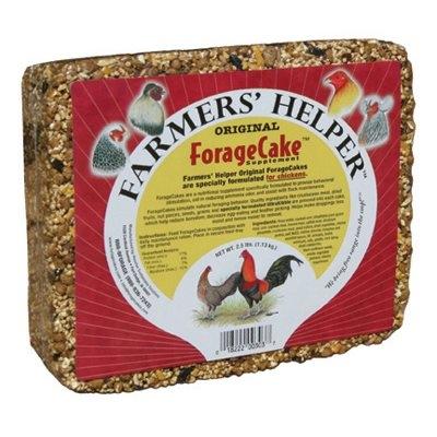 Image of Original Forage Cake Chicken Supplement, 2-1/2-Lbs.