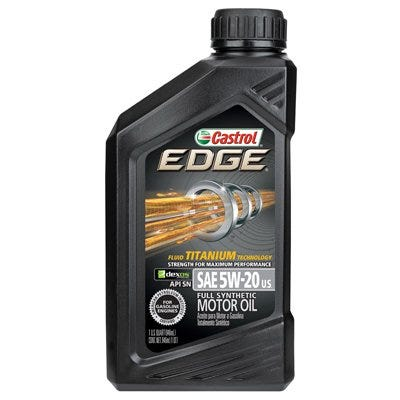 Edge Motor Oil, 5W-20, 1-Qt.