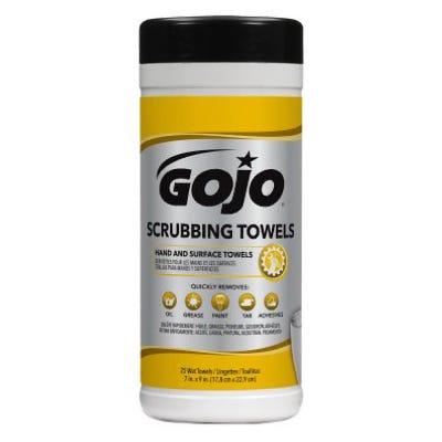 Scrubbing Towel Wipes, 25-Ct.