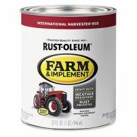 Farm Equipment Enamel Paint, International Red, 1-Qt.
