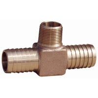 Hydrant Tee, 1 x 3/4-In. MPT