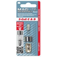 """Magnum Star II Xenon Replacement Lamp For 3-Cell """"C"""" Or """"D"""" Maglite Flashlights"""