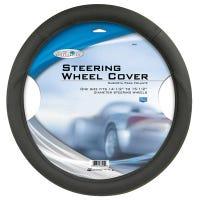 Steering Wheel Cover, Black Foam, One Size