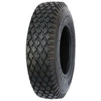 Lawn Tractor Tire, Stud Style, 4.10/3.50 x 4-In.