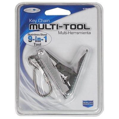 Multi-Tool Keychain, 9-In-1