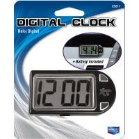 Digital Clock, Stand/Mount, Battery Incl.