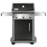 Spirit E-310 Natural Gas Grill, Porcelain Enamel, Black, 32,000-BTU