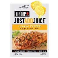Marinade Mix, Just Add Juice, Lemon Pepper, 1.12-oz.