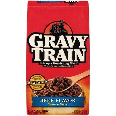 Image of Dog Food, Gravy Train, Beef, 35-Lbs.