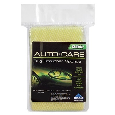 Image of Car Bug Scrubber Sponge