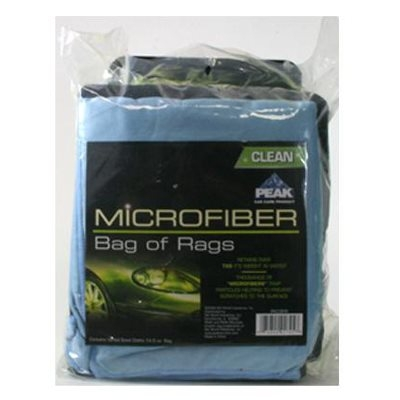 Image of Bag of Rags Cleaning Cloths, Microfiber