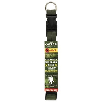 Image of Dog Collar, Green Military Spec, Large