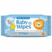 Spunlace Baby Wipes, Alcohol-Free, 80-Ct.