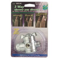 Shower Arm Diverter, 3-Way