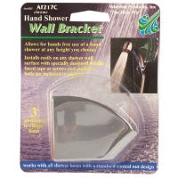 Handheld Shower Bracket, Chrome-Plated Plastic