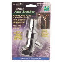 Handheld Shower Bracket, Swivel, Chrome