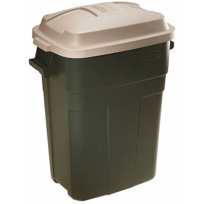 Roughneck 30-Gallon Evergreen Plastic Trash Can