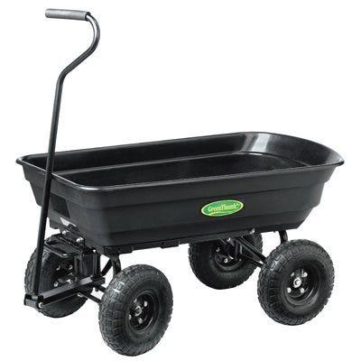 Dumping Garden Cart, 500-Lb. Capacity