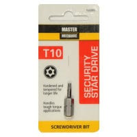 Torx Security Bit, TX10, 1-In.