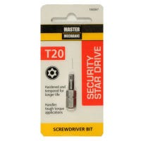 Torx Security Bit, TX20, 1-In.