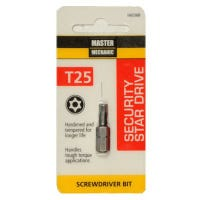 Torx Security Bit, TX25, 1-In.