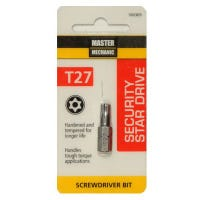 Torx Security Bit, TX27, 1-In.