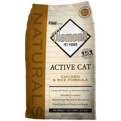 Image of Cat Food, Active Formula, Chicken, 6-Lb. Bag