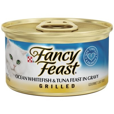 Image of Cat Food, Grilled Ocean Whitefish, 3-oz. Can
