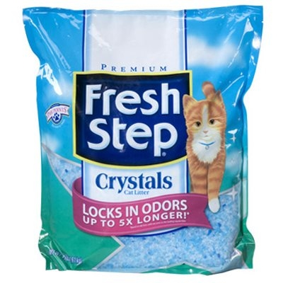 Image of Cat Litter, Crystals, 4-Lbs.